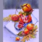 Восточная сюита - Картина Акварель 38х56 Наталия Попова - Профессиональный Художник 2019 год